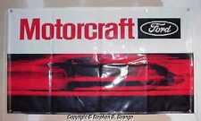 Autolite Motorcraft Ford GT-40 logo Boss 429 Shelby GT heavy vinyl wall banner!