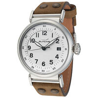 Glycine Men's 3933.141AT.LBR7 F104 Automatic 40mm Silver Dial - GL0128