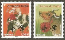 FRANCE 2021 Timbres N°  ANNEE du BUFFLE  PETITS FORMATS  - NEUFS** LUXE
