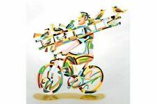 Ladder Man Sculpture by David Gerstein - Israeli Art & Gifts