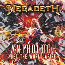 MEGADETH (2 CD) ANTHOLOGY : SET THE WORLD AFIRE ~ GREATEST HITS / BEST OF *NEW*