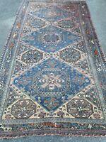Grand Tapis Ancien Turkmène Boukhara Kilim Antique Carpet Persian 360 x 195 cm
