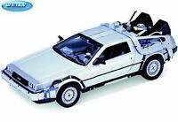 1:24 Modellauto Zurück in die Zukunft De Lorean Back to the Future