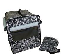 New BestPet Dog Cat Pet Bed House Soft Carrier Crate Cage w/Case L-Zebra