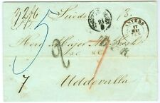 SWEDEN: Cover from Antwerp to Sweden 1857.