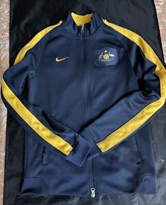 Nike Team Australia Olympic Jacket Sz S RARE Soccer World Cup Vtg Og  Lot