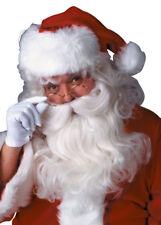Deluxe White Santa Wig and Beard Set