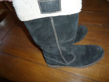 bottes noires taille 39 n daim marque Liberto occasion