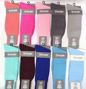 Mens Stacy Adams Socks Solid Color Dress Casual Socks Many Colors