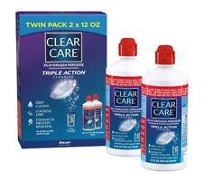 Solución Desinfectante Limpiadora Para Lentes De Contacto Clear Care