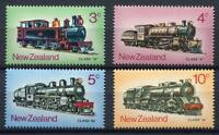 34516) New Zealand 1973 MNH Steam Locomotives 4v
