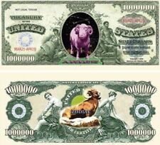 Set of 10 Bills-Aries Million Dollar Bill