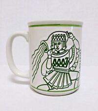Aquarius Zodiac Sign Ceramic Coffee Cup Tea Mug Raised Graphics Horoscope Cup