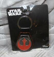 Star Wars Rebel Symbol Leather Key Chain *BRAND NEW* Great Gift Idea