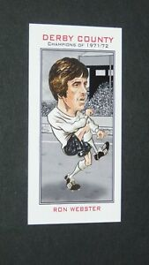 PHILIP NEILL CARD FOOTBALL 2007 CHAMPIONS 1971-1972 DERBY COUNTY RAMS WEBSTER