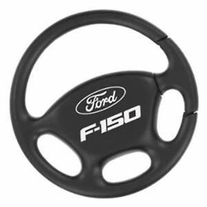 Ford F150 Steering Wheel Key Ring (Black)