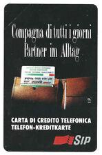 *G AA 31 C&C 1265 SCHEDA TELEFONICA NUOVA MAGNETIZZATA COMPAGNA 15 TES