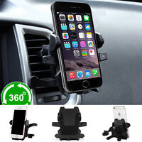 Universal 360° Rotating Car Air Vent Mount Holder Stand For Cell Phone GPS