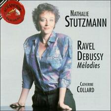 , Nathalie Stutzmann Sings Ravel/Debussy: Mélodies, Very Good Import