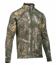 $100 Under Armour Threadborne Men's Sz SMALL Fleece 1/4 Zip Camo 1299249-946 NWT