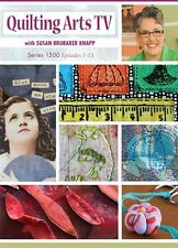 NEW! Quilting Arts TV Series 1500 with Susan Brubaker [DVD] [4-Disc Set]