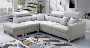 Brand New Corner Sofa Bed With Storage Loretto III