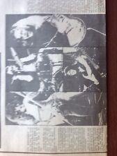 L1b Ephemera 1974 Article Rock Group Free Kossoff Rodgers
