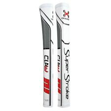 Super Stroke Traxion Claw 2.0 Putter Grip - White/Red/Grey - 19834 Ships Free