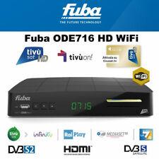 Fuba ODE716WiFi HD Decoder + PRE-ACTIVATED Tivusat HD SmartCard