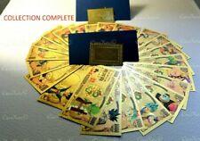 PROMO! COLLECTION COMPLETE! Dragon Ball Z 22 Billet Or Yen DBZ No Bandai carte