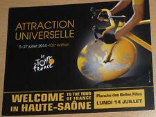 cyclisme - Carte postale étape La Planche des Belles Filles Tour de France 2014
