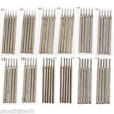 60Pcs 0.4 0.6 0.8 1 1.2 1.5mm Diamond Saw Drill Bits Jade Carving Burrs Lapidary