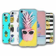 Para iPhone 7 & 8 Silicona Funda Cubierta Piña Colección 4
