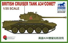 "Bronco Models 1/35 British Cruiser Tank A34 ""comet"""