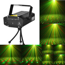 LED Stage Lighting Mini R&G Holographic Laser Projector Disco Party DJ Light US
