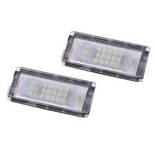 2 Pcs Plate Light 18 LED 3528SMD White License Plate Light Y4O8
