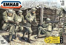 Emhar 7209 WWI American Infantry Doughboys 1/72 Plastic scale model kit