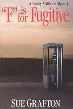 F Is for Fugitive 6 by Sue Grafton A Kinsey Millhone Mystery