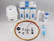 7 Stufen Umkehrosmose Made in Germany Wasserfilter+Mineralisierer+Membran 75GPD