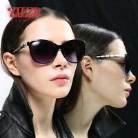 New Fashion Sunglasses Womens Cat Eye Polarized Glasses UV400 Eyewear Women