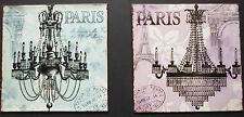 french paris chandelier light bedroom tin sign eiffel tower pretty
