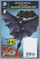 DC Nation Super Sampler #1 2013 FCBD Batman Teen Titans Todd Nauck DC Comics