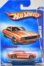 HOT WHEELS 2009 MUSCLE MANIA '69 CAMARO #01/10 ORANGE