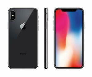 NEW Apple iPhone X 64GB Black Or Silver SIM-Free Smartphone With Accessories