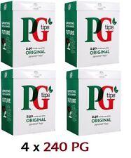 960 (4 x 240) PG Tips Original Pyramid Tea Bags British No.1 English Tea