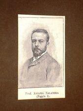 Deputato nel 1886 Onorevole Professore Antonio Salandra di Foggia