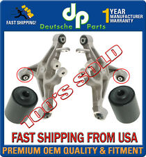 Rear Lower Control Arm Arms Bushing Bushings LEFT + RIGHT for Lincoln LS SET 2