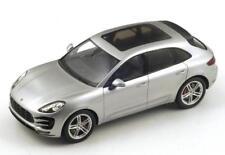 Spark Porsche Macan Turbo Silver Metallic 1:18  New Item! Very Nice!