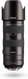 Pentax HD D FA 70-210mm f/4 ED SDM WR Lens