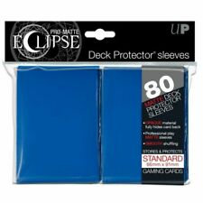 Pro-matte Eclipse Blue Standard Deck Protector Card Sleeves 80ct Ultra Pro 85111